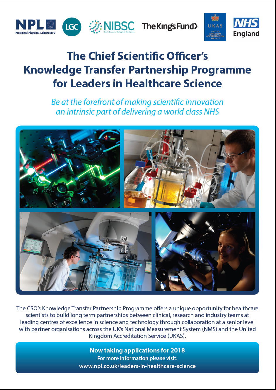 nhs knowledge transfer opportunity